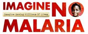 Imagine No Malaria graphic