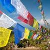 Prayer flag flyer